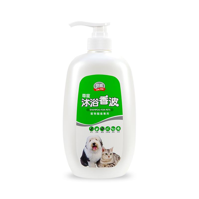 奇威寵物沐浴香波-寵物驅蚤專用