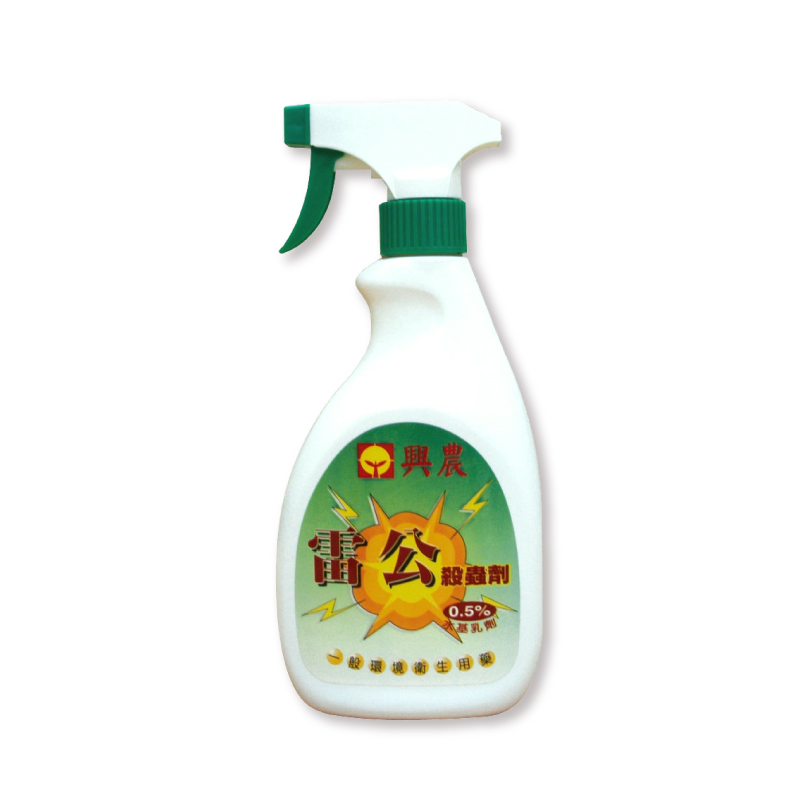 興農雷公0.5%殺蟲劑500ml